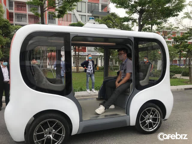 Cận cảnh xe tự hành Made in Vietnam đầu tiên đạt cấp độ 4: Tốc độ tối đa 40km/h, làm chủ công nghệ lõi, đã sẵn sàng nhận đơn đặt hàng - Ảnh 6.