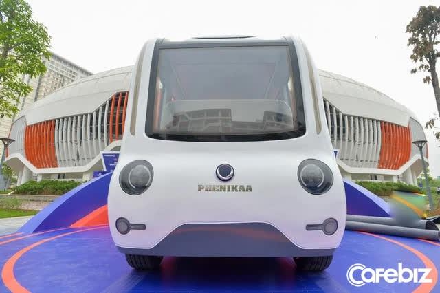 Cận cảnh xe tự hành Made in Vietnam đầu tiên đạt cấp độ 4: Tốc độ tối đa 40km/h, làm chủ công nghệ lõi, đã sẵn sàng nhận đơn đặt hàng - Ảnh 1.
