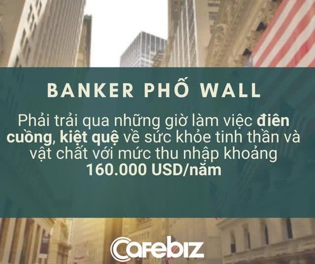 Sự thật trần trụi về các nhân viên ngân hàng đầu tư phố Wall: Làm việc bán mạng 100 giờ/tuần để đổi lấy mức lương 160.000 USD/năm, bị gọi là công nhân tài chính - Ảnh 2.