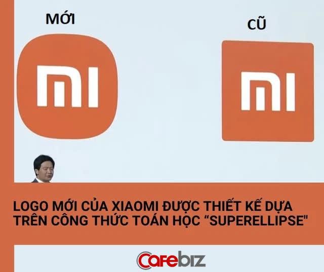 Nghe CEO Lei Jun giải thích mới thấy logo mới của Xiaomi 'chất tới từng xu': Sử dụng công thức toán học 'siêu hình elip', đạt tới sự cân bằng hoàn hảo - Ảnh 1.