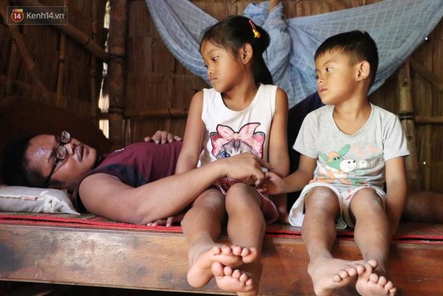 Cha bị tai nạn giao thông, cả gia đình với 3 đứa trẻ rơi vào cùng cực: Chỉ sợ mình không đủ tiền cho các con học tiếp - Ảnh 4.