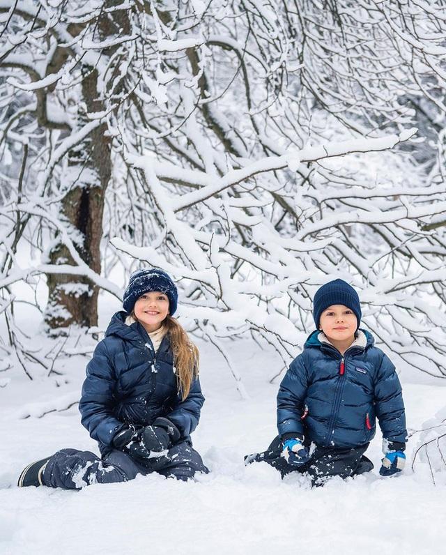 Hoàng gia Thụy Điển chia sẻ hình ảnh dịp sinh nhật 5 tuổi con trai Thái tử, ai cũng phải xuýt xoa vì thần thái hơn người của những đứa trẻ kế vị - Ảnh 2.