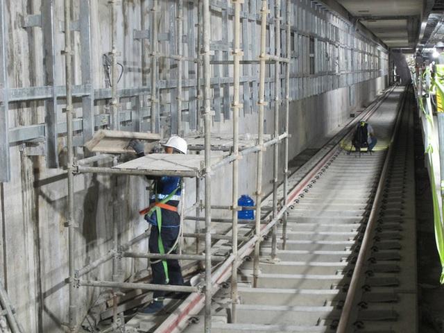 Hình ảnh cận cảnh đầu tiên về nhà ga Ba Son dưới lòng đất - Ảnh 6.