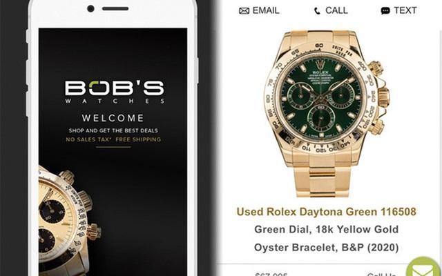 Giới siêu giàu chơi net ở đẳng cấp khác: Có app riêng để mua đồng hồ Rolex, quẹt trái phải như Tinder chốt đồ tiền tỷ - Ảnh 1.