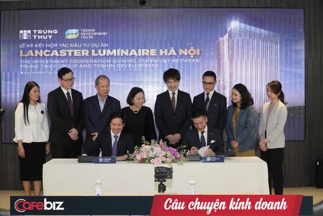 Tập đoàn Trung Thủy trở lại thị trường bất động sản Hà Nội với dự án phức hợp bắt tay với ông lớn Nhật Takashimaya  - Ảnh 1.
