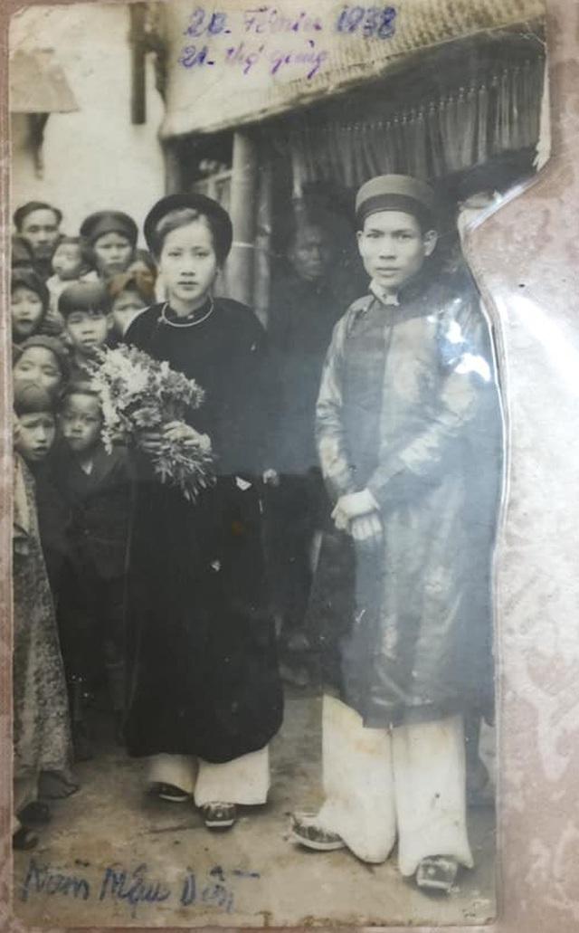 Gặp cụ bà 100 tuổi ở Hà Nội gây sốt bởi nhan sắc trong đám cưới thời trẻ: Sinh ra tại Pháp, từng được mệnh danh là hoa khôi của vùng - Ảnh 4.