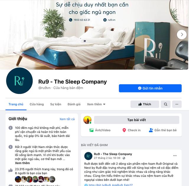 Bán nệm kiểu Ru9: 90% đơn hàng là bán online, không phụ thuộc showroom, tặng miễn phí 100 đêm ngủ thử, doanh số tăng 300% năm Covid 2020 - Ảnh 1.