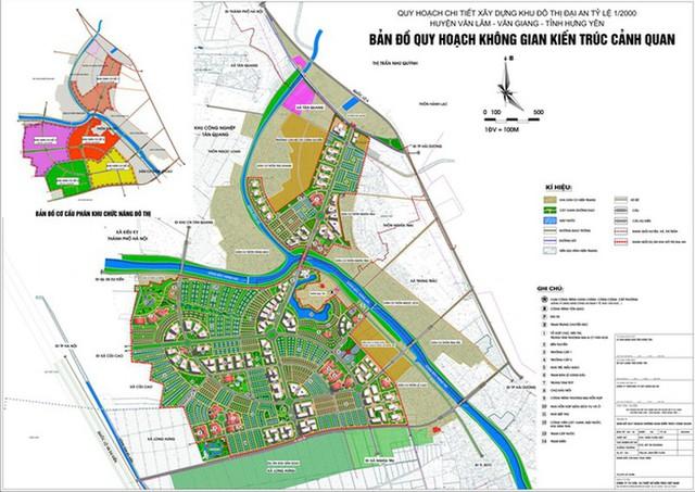 Vinhomes được phê duyệt chủ trương đầu tư dự án 32.661 tỷ đồng tại Hưng Yên - Ảnh 1.