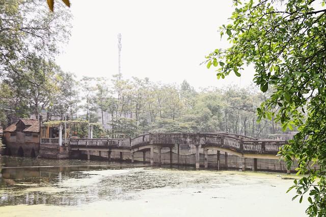 Cận cảnh cây cầu 'độc nhất vô nhị' tại Hà Nội  - Ảnh 4.