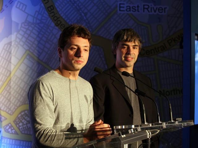 Cặp bạn thân đồng sáng lập Google: Startup từ phòng ký túc xá Stanford, hỗ trợ nhau điều hành đế chế nghìn tỷ USD suốt 20 năm, cùng trở thành tỷ phú rồi cùng 'nghỉ hưu' - Ảnh 1.