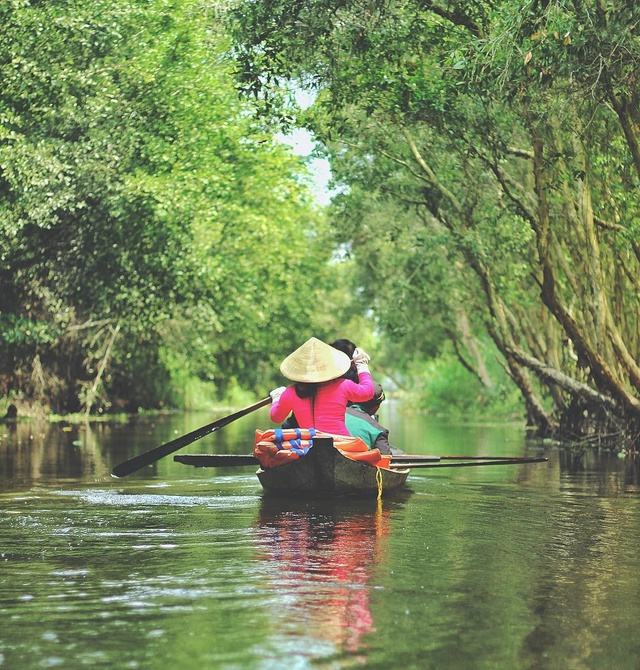 Không chỉ có miệt vườn sông nước mênh mang, miền Tây Nam Bộ còn có những rừng tràm xanh mướt hút hồn du khách: Địa điểm đổi gió tuyệt vời dịp 30/4 - 1/5 tới! - Ảnh 6.