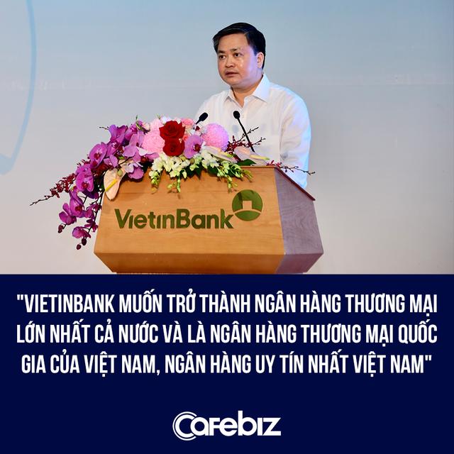 Chủ tịch Lê Đức Thọ: Vietinbank muốn trở thành Ngân hàng thương mại quốc gia của Việt Nam - Ảnh 1.