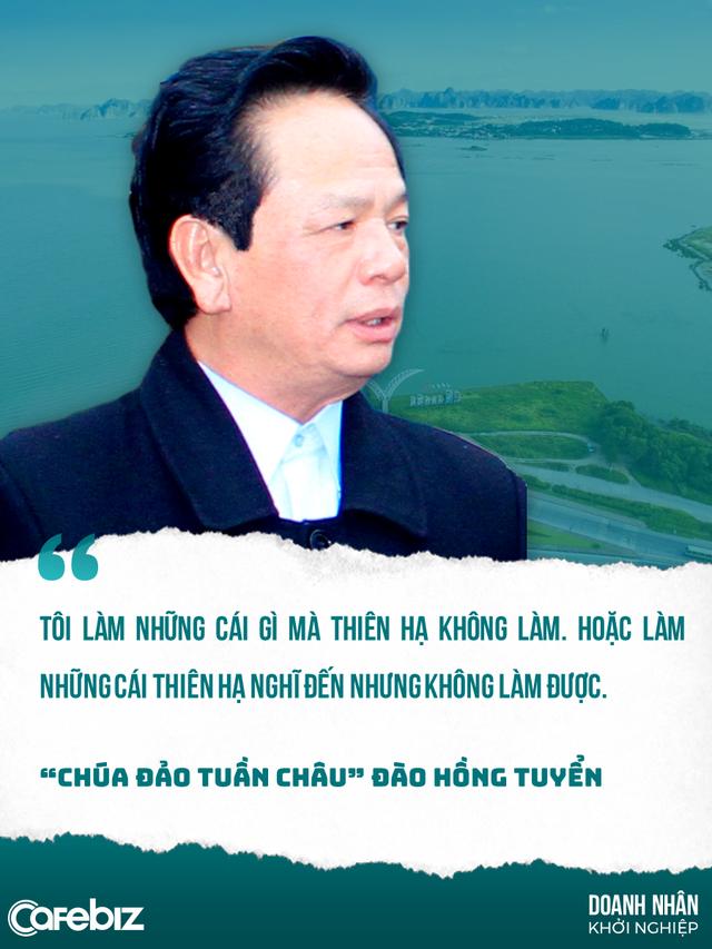 Đào Hồng Tuyển: Cựu binh tàu không số từng lang thang ngủ vỉa hè, dọn chuồng heo, trở thành Chúa đảo Tuần Châu ưa thích dời non lấp bể - Ảnh 2.