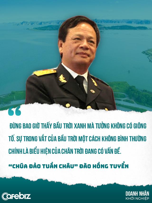 Đào Hồng Tuyển: Cựu binh tàu không số từng lang thang ngủ vỉa hè, dọn chuồng heo, trở thành Chúa đảo Tuần Châu ưa thích dời non lấp bể - Ảnh 1.