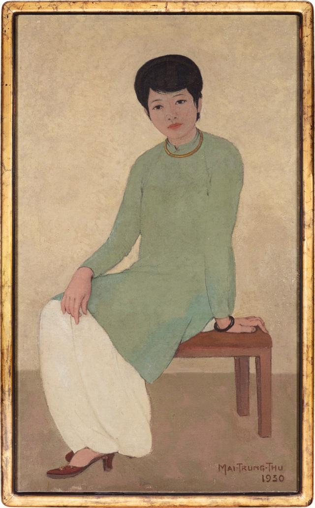 Bức tranh Chân dung Madam Phương của họa sĩ người Việt đạt kỷ lục 3,1 triệu USD - Ảnh 1.