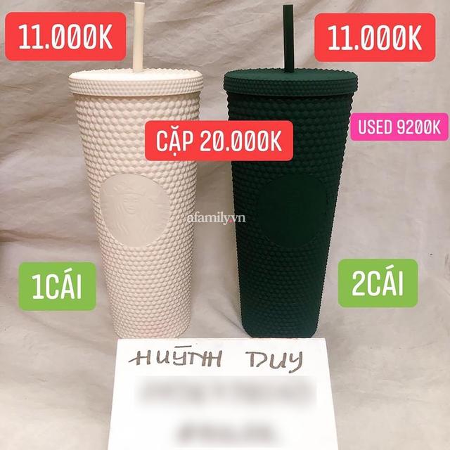 Ngã ngửa vì hiện tượng đầu cơ ly Starbucks, giá tăng chóng mặt một cách khó hiểu đến mức mua 1 triệu - bán lại tận 20 TRIỆU cho 2 CHIẾC LY BẰNG NHỰA cũng cháy hàng! - Ảnh 13.