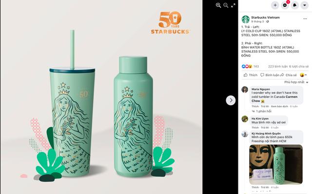 Giám đốc PR-Marketing Starbucks Việt Nam: Chúng tôi luôn bị phàn nàn vì sao lại thiếu những vật phẩm quà tặng như ly tách để bán - Ảnh 2.