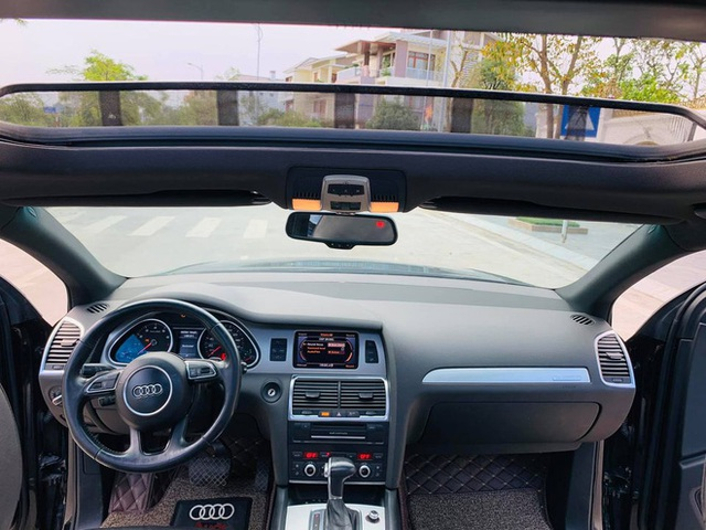 Bỏ 4 tỷ mua Audi Q7 rồi bán giá 1 tỷ, chủ xe vẫn tự tin khẳng định chất lượng xe như đập hộp - Ảnh 4.
