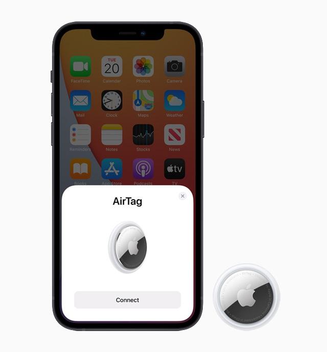 Apple ra mắt AirTag: Phụ kiện giúp định vị vật dụng cá nhân, pin 1 năm, giá 29 USD - Ảnh 5.