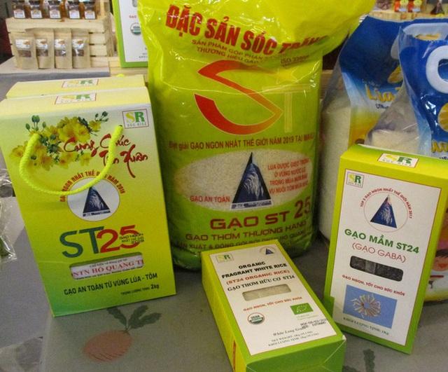 Gạo ST25 bị đăng ký thương hiệu ở Mỹ bởi 4 doanh nghiệp ngoại - Ảnh 1.