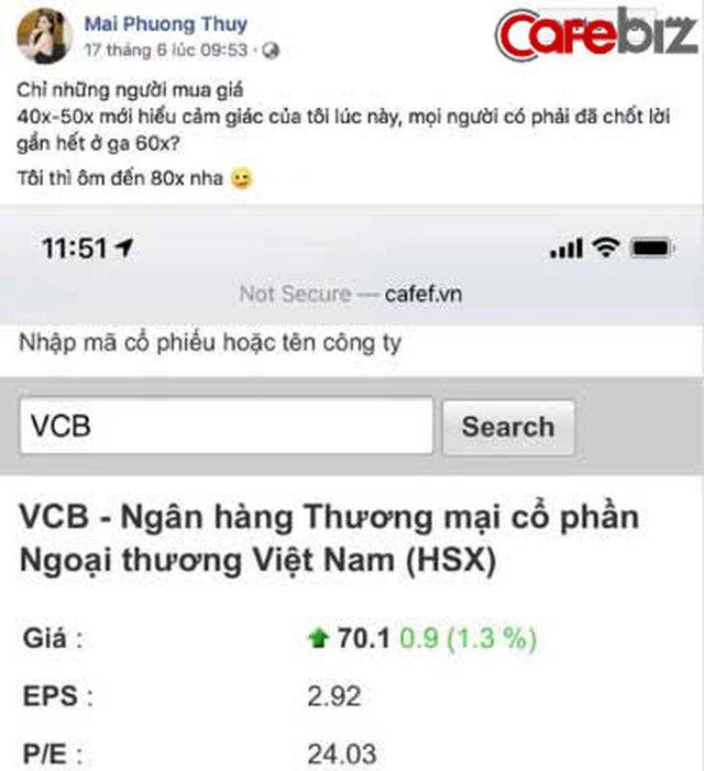 """""""Hoa hậu tiên tri"""" Mai Phương Thúy: Phím hàng cổ phiếu Hòa Phát 1 năm trước, ai nghe theo giờ đã lãi gấp đôi - Ảnh 3."""