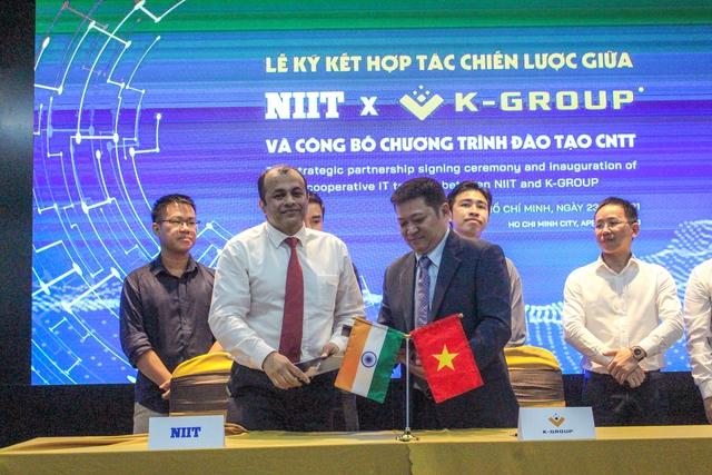 K-Group hợp tác với ông lớn Ấn Độ NIIT, đào tạo các khóa học về AI, big data, blockchain… - Ảnh 3.