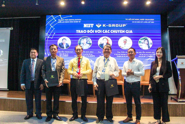 K-Group hợp tác với ông lớn Ấn Độ NIIT, đào tạo các khóa học về AI, big data, blockchain… - Ảnh 1.
