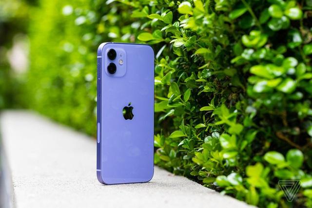Cận cảnh iPhone 12 màu tím mộng mơ - Ảnh 1.