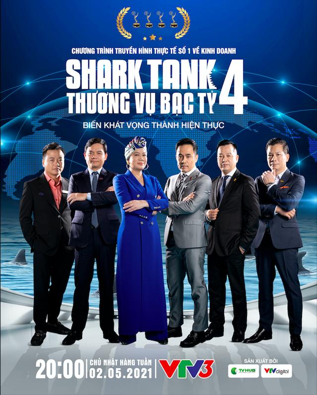 Dàn cá mập Shark Tank Việt Nam mùa 4 chính thức lộ diện: Shark Dzung không còn ngồi ghế nóng, Shark Phú bất ngờ quay trở lại! - Ảnh 1.