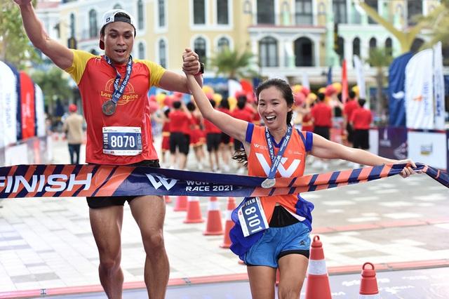 Cặp đôi nhà vô địch ở giải chạy Phu Quoc WOW Island Race 2021: Cung đường đạt 9/10 về độ đẹp, còn độ lãng mạn phải 11/10 - Ảnh 6.