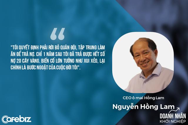 Ông chủ ô mai Hồng Lam: Rời quân ngũ đi khởi nghiệp vì món nợ 20 cây vàng và sở thích mua đứt BĐS ở các vị trí quan trọng trong kinh doanh - Ảnh 2.