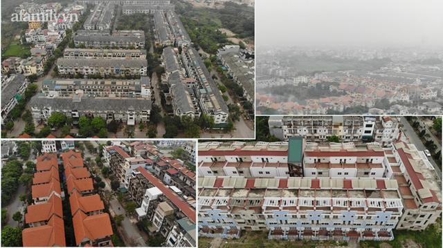 Cận cảnh khu biệt thự ma ở Hà Nội: Xuống cấp trầm trọng sau 10 năm bỏ hoang nhưng vẫn hét giá trên trời, đứng trước nguy cơ thu hồi vì CĐT nợ thuế nghìn tỷ - Ảnh 13.