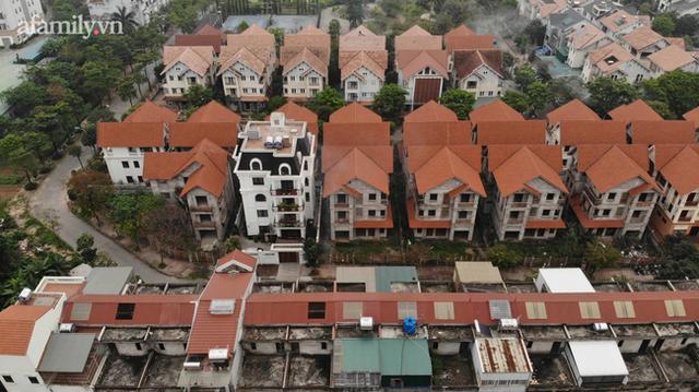Cận cảnh khu biệt thự ma ở Hà Nội: Xuống cấp trầm trọng sau 10 năm bỏ hoang nhưng vẫn hét giá trên trời, đứng trước nguy cơ thu hồi vì CĐT nợ thuế nghìn tỷ - Ảnh 9.