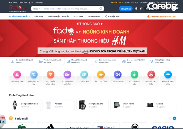 Một sàn TMĐT Việt ngừng kinh doanh H&M, tuyên bố không hợp tác với thương hiệu không tôn trọng chủ quyền Việt Nam - Ảnh 1.