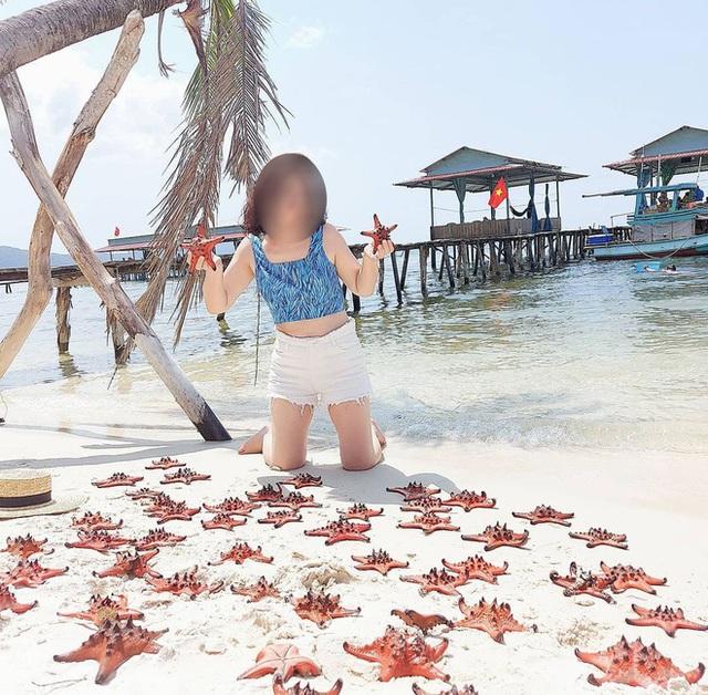 Từ vụ sao biển chết khô ở Phú Quốc: Dân mạng tiếp tục đào thêm hàng loạt hình sống ảo đầy tội lỗi của du khách - Ảnh 16.
