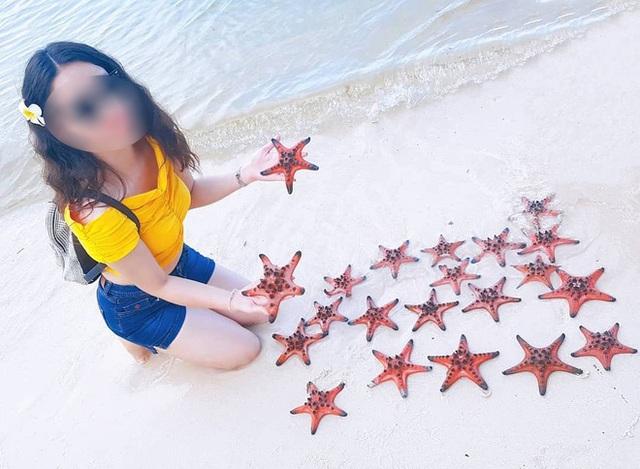 Từ vụ sao biển chết khô ở Phú Quốc: Dân mạng tiếp tục đào thêm hàng loạt hình sống ảo đầy tội lỗi của du khách - Ảnh 23.