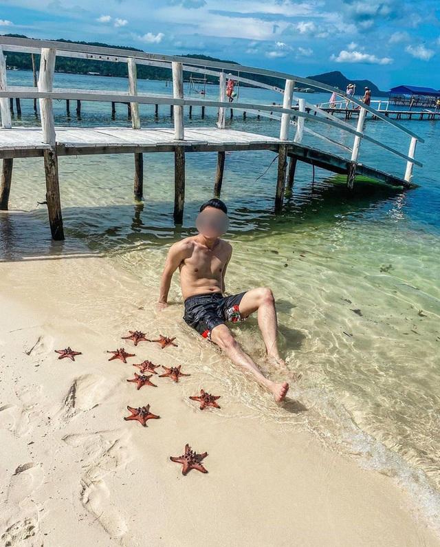 Từ vụ sao biển chết khô ở Phú Quốc: Dân mạng tiếp tục đào thêm hàng loạt hình sống ảo đầy tội lỗi của du khách - Ảnh 8.