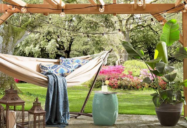 3 ý tưởng hữu ích giúp bạn rất nhanh sở hữu được góc thư giãn ngoài trời chuẩn chỉnh vào mùa hè - Ảnh 5.