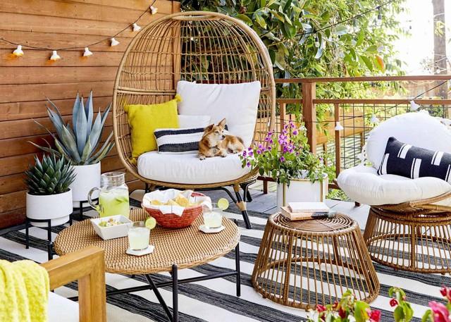 3 ý tưởng hữu ích giúp bạn rất nhanh sở hữu được góc thư giãn ngoài trời chuẩn chỉnh vào mùa hè - Ảnh 8.