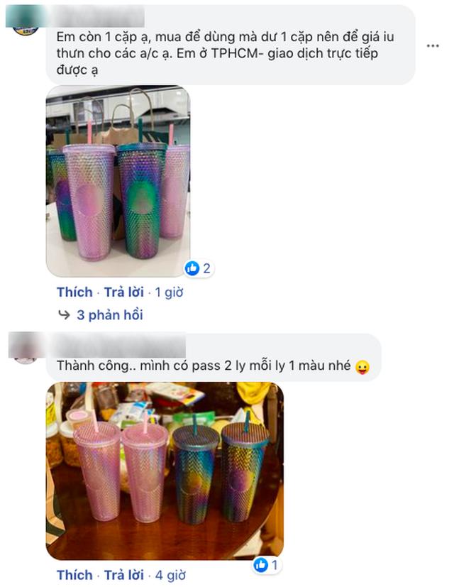 HOT: Vừa thông báo tung ra bộ đôi cốc mới vào sáng sớm, Starbucks đã khiến dân tình xếp hàng dài săn lùng, giá bán lại bị hét lên gấp 2 lần? - Ảnh 13.