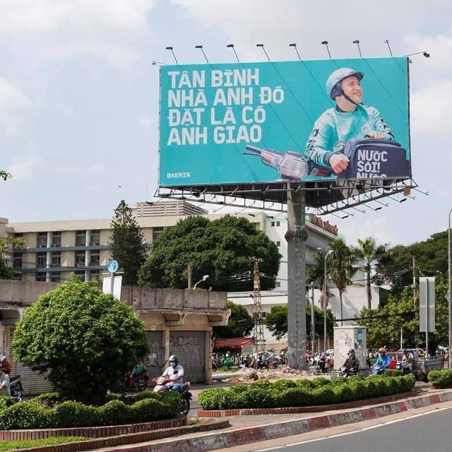"""Tặng mỗi quận một câu """"thơ"""", quảng cáo ngoài trời của Baemin khiến dân mạng cảm thán: Chơi vậy sao Grab, Gojek chơi lại! - Ảnh 2."""