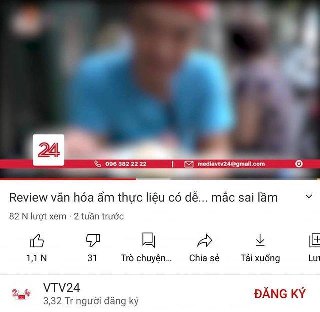 Duy Nến bất ngờ... cám ơn VTV vì đã gỡ bài đăng rác mạng nói về kênh Hà Nội Phố, nhưng YouTube vẫn còn nguyên video? - Ảnh 3.