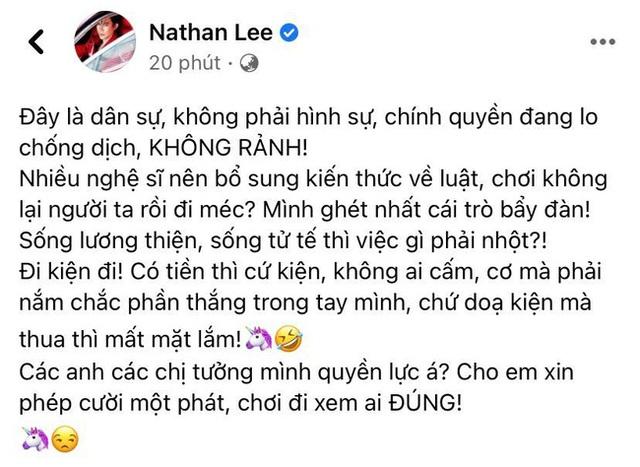 Nathan Lee tiếp tục lên tiếng giữa drama đại gia Phương Hằng và sao Việt: Nhiều nghệ sĩ nên bổ sung kiến thức - Ảnh 1.