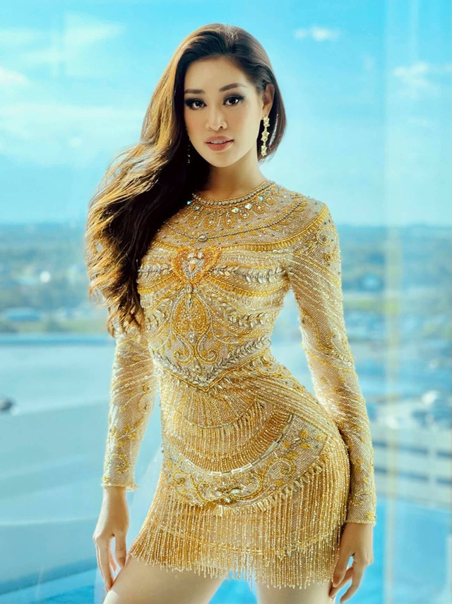 Khánh Vân từng trả lời: Em chẳng có gì ngoài một trái tim yêu thương, xem cách bố mẹ dạy mới hiểu tại sao hoa hậu luôn được khen đẹp cả người cả nết - Ảnh 1.