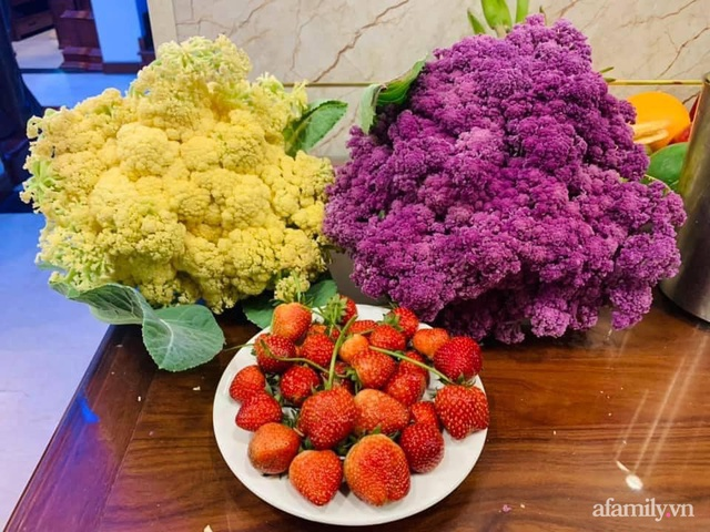Nông trại rộng 300m² đẹp như cổ tích với đủ loại hoa và rau quả của mẹ 4 con ở Móng Cái, Quảng Ninh - Ảnh 11.