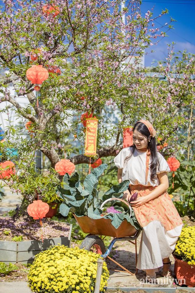 Nông trại rộng 300m² đẹp như cổ tích với đủ loại hoa và rau quả của mẹ 4 con ở Móng Cái, Quảng Ninh - Ảnh 13.