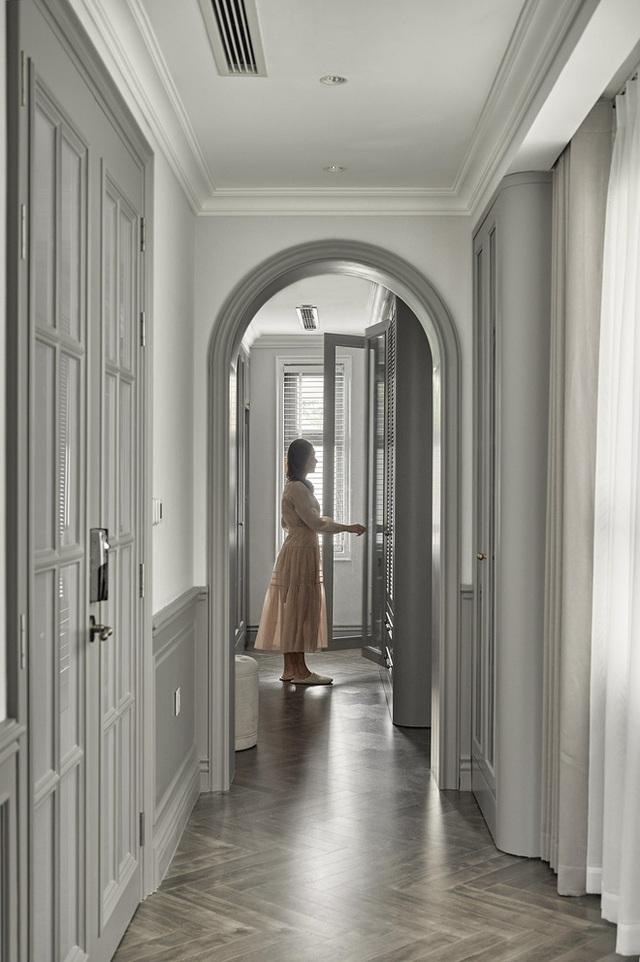 Chán chung cư, mẹ Hà Nội chi 2,5 tỷ sửa nhà Vinhomes, đo ni đóng giày nội thất theo phong cách Traditional chất như phim Mỹ - Ảnh 16.