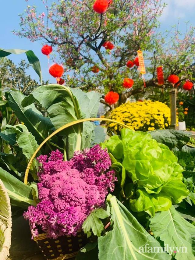 Nông trại rộng 300m² đẹp như cổ tích với đủ loại hoa và rau quả của mẹ 4 con ở Móng Cái, Quảng Ninh - Ảnh 17.