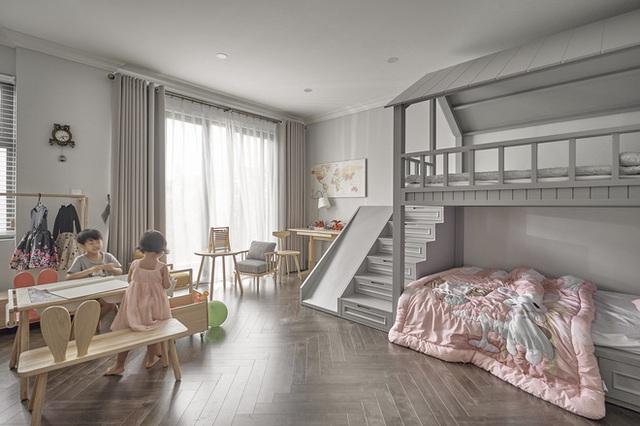 Chán chung cư, mẹ Hà Nội chi 2,5 tỷ sửa nhà Vinhomes, đo ni đóng giày nội thất theo phong cách Traditional chất như phim Mỹ - Ảnh 17.
