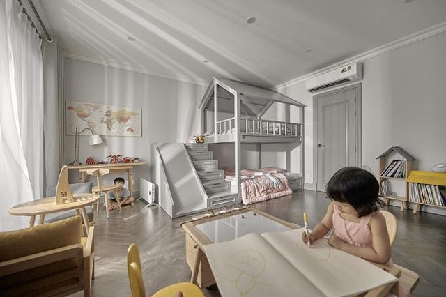 Chán chung cư, mẹ Hà Nội chi 2,5 tỷ sửa nhà Vinhomes, đo ni đóng giày nội thất theo phong cách Traditional chất như phim Mỹ - Ảnh 18.